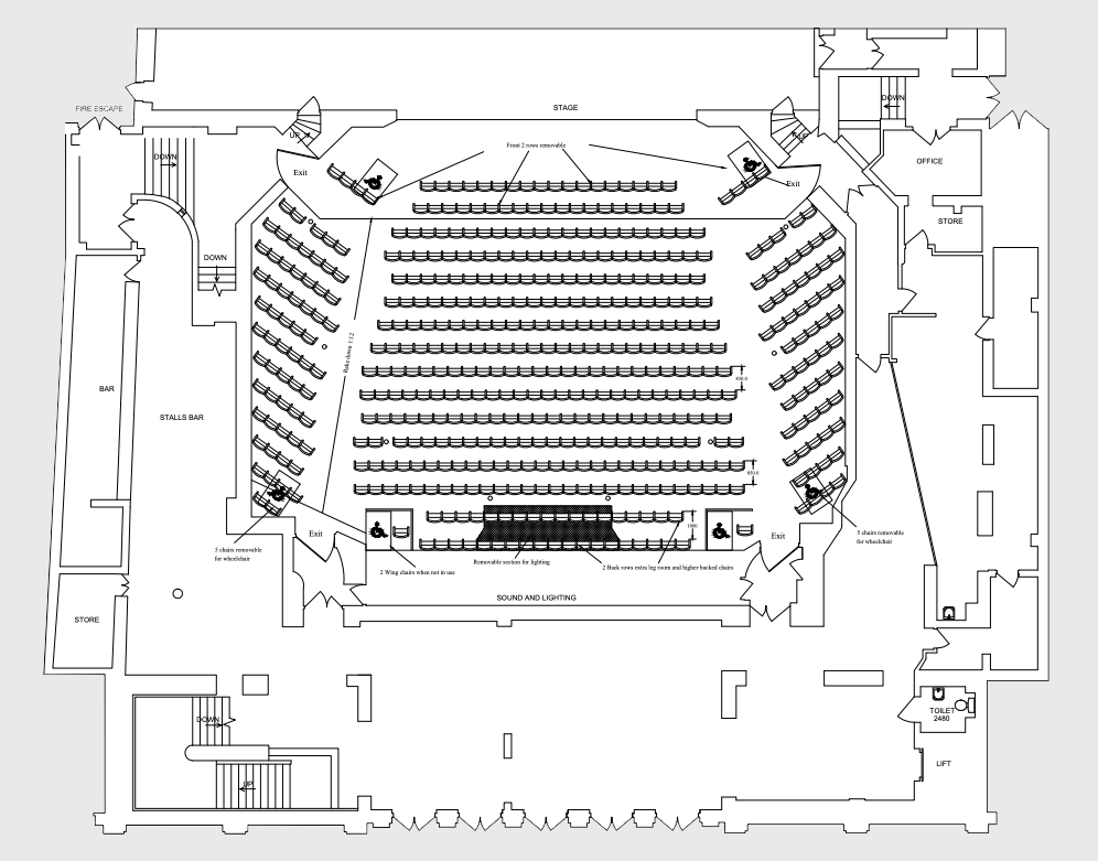 The Wolverhampton Grand - CAD Layout